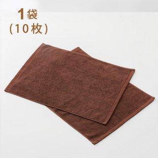 スレン染カラーバスマット ダークブラウン 700匁  1袋(10枚)