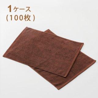 スレン染カラーバスマット ダークブラウン 700匁  1ケース(100枚)