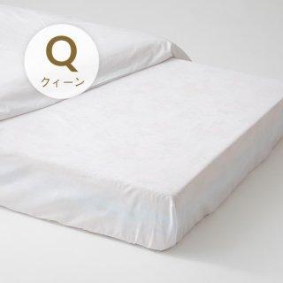 綿フラットシーツ クィーン270x300(ベッド用)