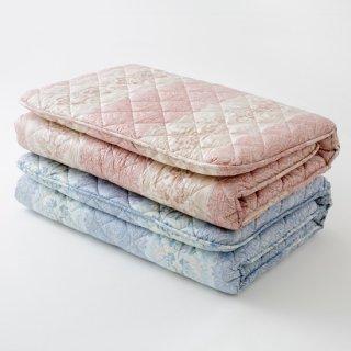 羊毛混三層敷き布団 (シングルロング) 100x210cm