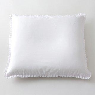 座布団カバーポリ/綿 白 55x59 5枚セット
