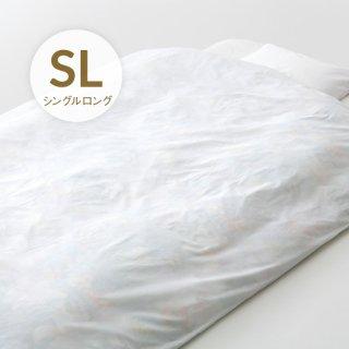 綿横開き三本ひも シングルロング 日本製