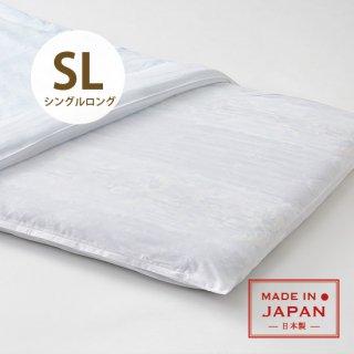 ポリ/綿敷布団カバー シングルロング 日本製