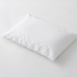 枕カバー 封筒式 35x70ポリ/綿 65:35  白