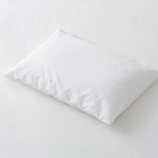 枕カバー 封筒式 38x70  ポリ/綿  65:35 白