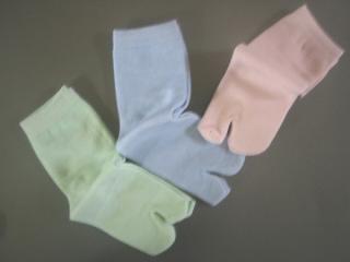 湯上り足袋(カラー)120本セット