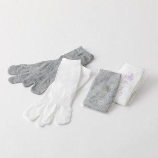 湯上り足袋(グレー/白/ベージュ/コン)  1ケース(500足)
