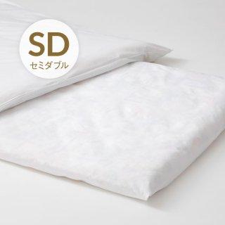 綿フラットシーツ セミダブル160x280 中国製