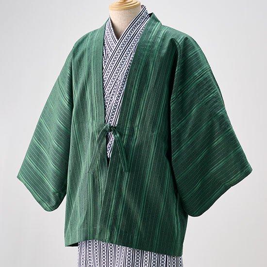 茶羽織 ストライプ