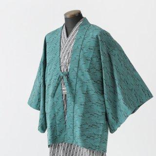 茶羽織 笹の葉