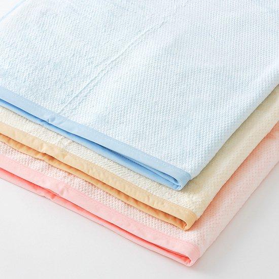 無地カラー綿毛布