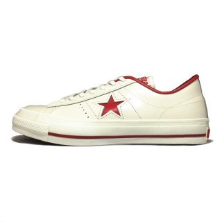 converse / ONE STAR J / White×Red<img class='new_mark_img2' src='https://img.shop-pro.jp/img/new/icons31.gif' style='border:none;display:inline;margin:0px;padding:0px;width:auto;' />