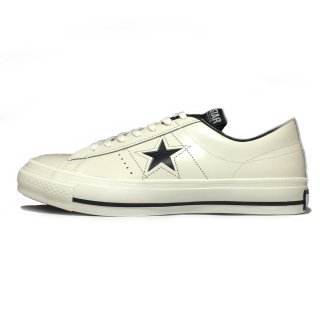 converse / ONE STAR J / White×Black