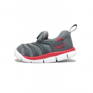 NIKE / DYNAMO FREE TD / Grey×UniversityRed-DarkGrey-White