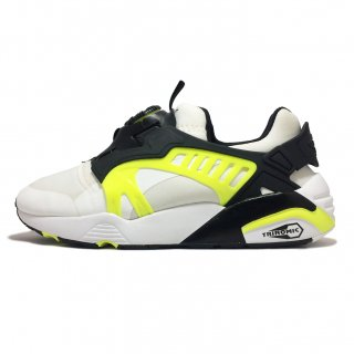 PUMA / DISC BLAZE ELECTRIC / P.White×P.Black×SafeYellow<img class='new_mark_img2' src='https://img.shop-pro.jp/img/new/icons41.gif' style='border:none;display:inline;margin:0px;padding:0px;width:auto;' />