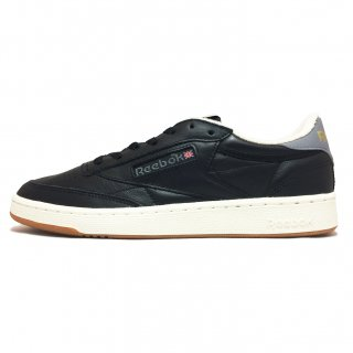Reebok / CLUB C 85 RETRO GUM / Black×Chalk×CloudGrey<img class='new_mark_img2' src='https://img.shop-pro.jp/img/new/icons41.gif' style='border:none;display:inline;margin:0px;padding:0px;width:auto;' />