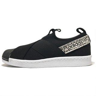 adidas / SUPERSTAR SlipOn W / C.Black×C.Black×FtwWhite