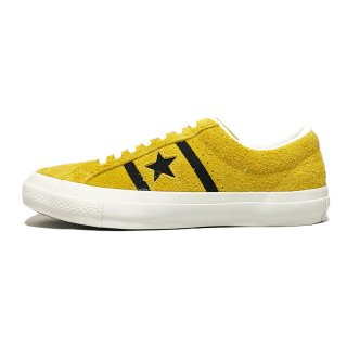 converse / STAR&BARS SUEDE / Gold×Black