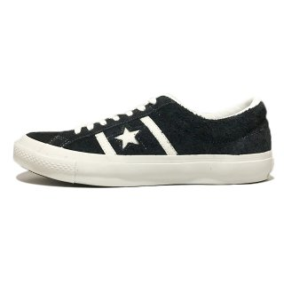 converse / STAR&BARS SUEDE / Black×White