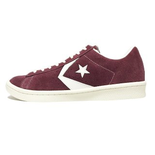 converse / PRO-LEATHER SUEDE OX / Burgundy×White