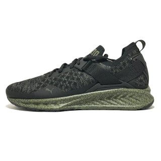 PUMA / IGNITE evoKNIT LO HyperNature / Black×Quietshade×OliveNight<img class='new_mark_img2' src='https://img.shop-pro.jp/img/new/icons41.gif' style='border:none;display:inline;margin:0px;padding:0px;width:auto;' />