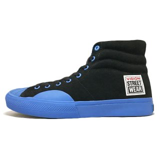 VISION STREET WEAR / SUEDE HI / Black×Blue