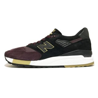 new balance / M998 / Black×Burgundy