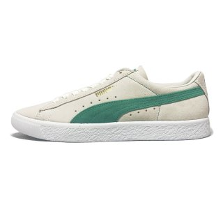 PUMA / Suede 90681 / WhisperWhite×GreenFlash