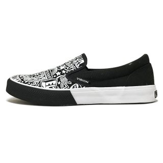 VISION STREET WEAR / CANVAS SLIP-ON / Elcid