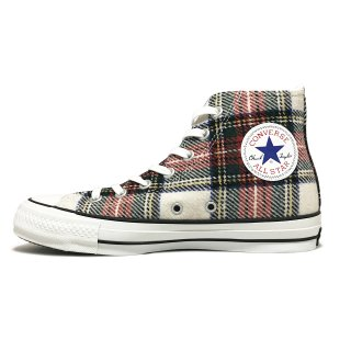 converse / ALL STAR WOOLCHECK HI / White