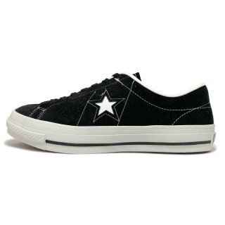 converse / ONE STAR J SUEDE / Black<img class='new_mark_img2' src='https://img.shop-pro.jp/img/new/icons31.gif' style='border:none;display:inline;margin:0px;padding:0px;width:auto;' />