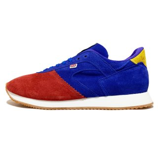 WALSH / LOTUS SUEDE / Blue×Red×Yellow