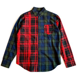 STAPLE / FLANNEL PIGEON SHIRTS / Red