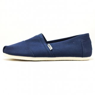 TOMS / M CLSC CANVAS / Navy
