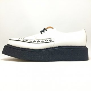 George Cox / 5289 / White Leather