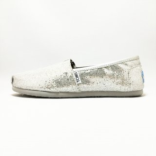 TOMS / W CLSC Glitters / Silver