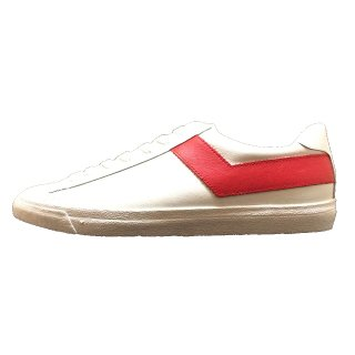 PONY / TOP STAR OX LEATHER / White×Red