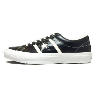 converse / STAR&BARS LEATHER / Black×White