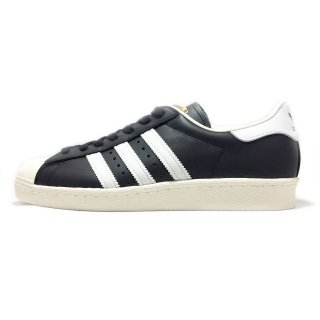adidas / SUPER STAR 80s / Black1×White×Chalk2
