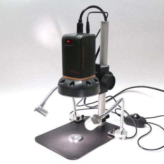 MicroLinks(ViTiny) HDMIマイクロスコープ UM08用 グースネックライト UM-GN-01