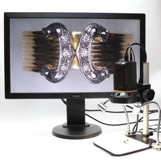 MicroLinks(ViTiny) HDMIマイクロスコープ UM08用 グースネックライト UM-GN-01R【レンタル機】【画像6】