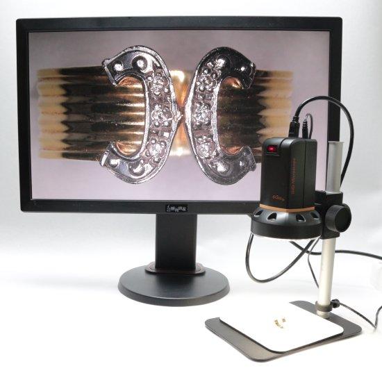 MicroLinks(ViTiny) HDMIマイクロスコープ UM08用 グースネックライト UM-GN-01R【レンタル機】【画像7】