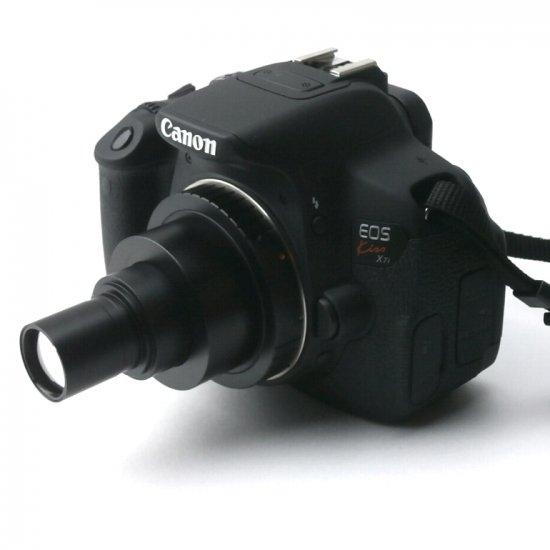 顕微鏡屋 Canon EFマウント一眼レフカメラ(EOSシリーズ)用顕微鏡アダプタレンズ ALC-CEFR【レンタル品】【画像6】