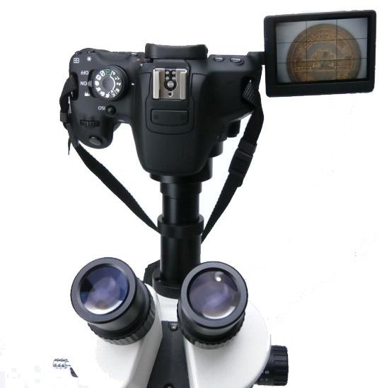 顕微鏡屋 Canon EFマウント一眼レフカメラ(EOSシリーズ)用顕微鏡アダプタレンズ ALC-CEFR【レンタル品】【画像9】