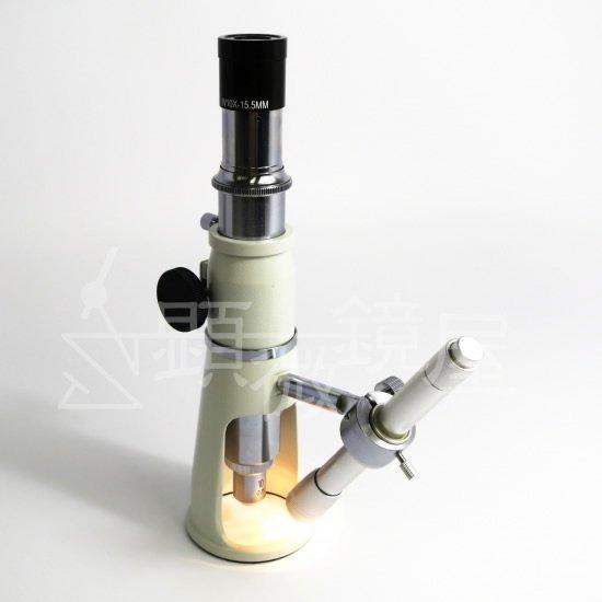 顕微鏡屋セレクト 携帯型単眼測定顕微鏡(20倍) SC-20L【画像4】