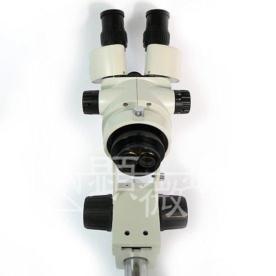 顕微鏡屋セレクト ズーム式三眼実体顕微鏡 (光路分割タイプ) JZ-0745BT【画像6】