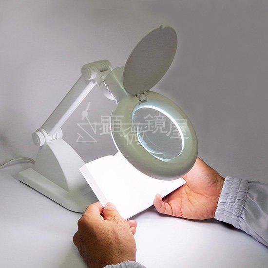 顕微鏡屋セレクト ライト付インバータスタンドルーペ SL-8092X-L【画像10】