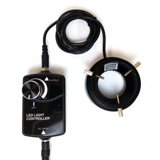 松電舎 96灯細径LEDリング照明 GR96-N2【画像2】