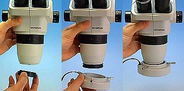 松電舎 56灯LEDリング照明(M48サイズ顕微鏡対応) GR10-O