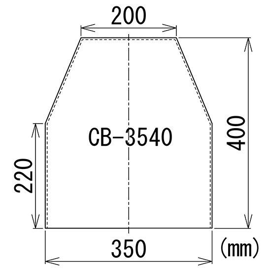 顕微鏡屋/顕微鏡カバー(ダストカバー/防塵カバー/ビニールカバー) CB-3540【画像3】